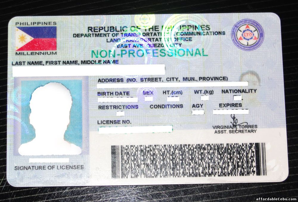 Driver-s-License-ID-Philippines