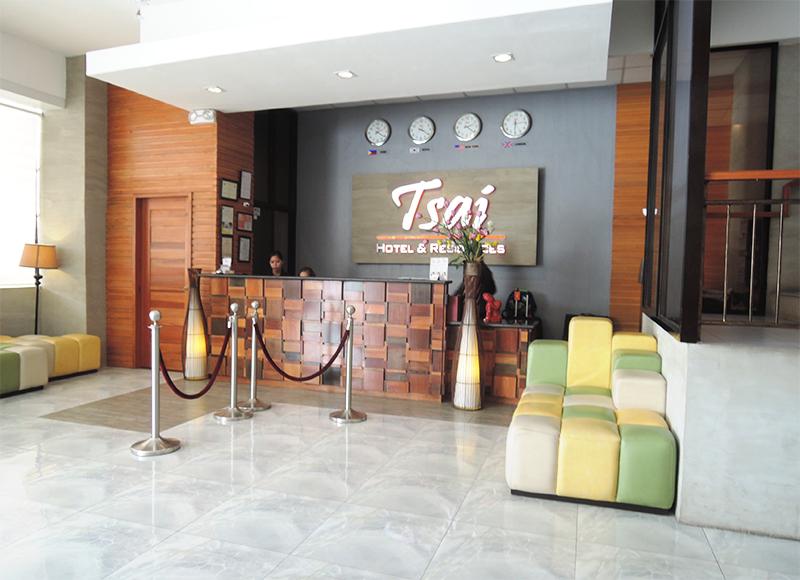 Tsaiホテル受付