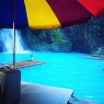 『Kawasan Falls』で滝行して来ました!