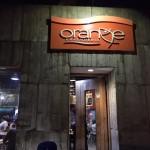 人気レストラン!Orangeへ!