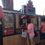 日本と変わらない味?!のたこ焼きをPark Mallで!