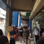 現地のマーケット:Colon street