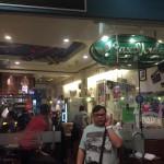 大きなハンバーガーが有名「Casa Verde」