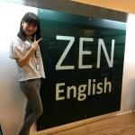 ZEN English インターンのMiyuです ☺