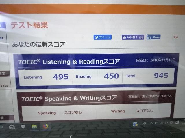 11月18日TOEIC試験準備・難易度・感想・結果 | 英語学校公式 ...
