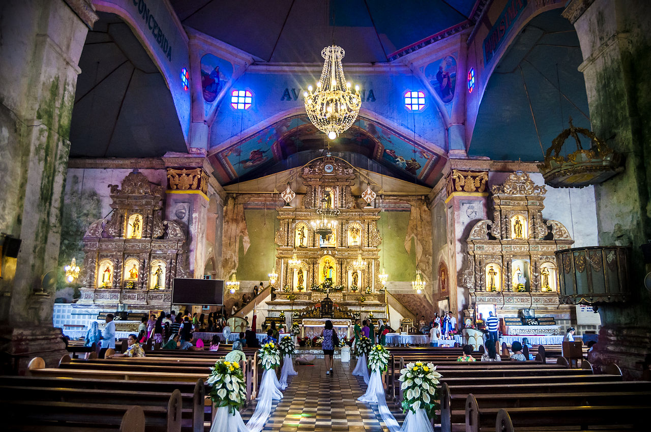 1280px-Baclayon_Church_interior