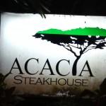 セブ高級レストラン①:隠れたステーキの名店☆ Acacia Steakhouse